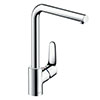 hansgrohe Focus M41 Single Lever Kitchen Mixer 280 - Chrome - 31817000 profile small image view 1