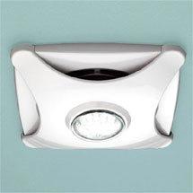 HIB Air-Star Bathroom Ceiling Fan with LED Lights - White - 31900 Medium Image
