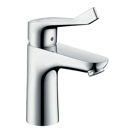 hansgrohe Focus Care Single Lever Basin Mixer 100 with Pop-up Waste - 31911000