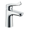 hansgrohe Focus Care Single Lever Basin Mixer 100 without Waste - 31915000 profile small image view 1