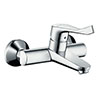 hansgrohe Focus Care Wall Mounted Single Lever Basin Mixer - 31913000 profile small image view 1