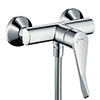 hansgrohe Focus Care Exposed Single Lever Manual Shower Mixer - 31916000 profile small image view 1