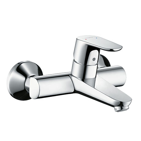 hansgrohe Focus Wall Mounted Single Lever Basin Mixer - 31923000