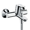 hansgrohe Focus Exposed Single Lever Bath Shower Mixer - 31940000 profile small image view 1