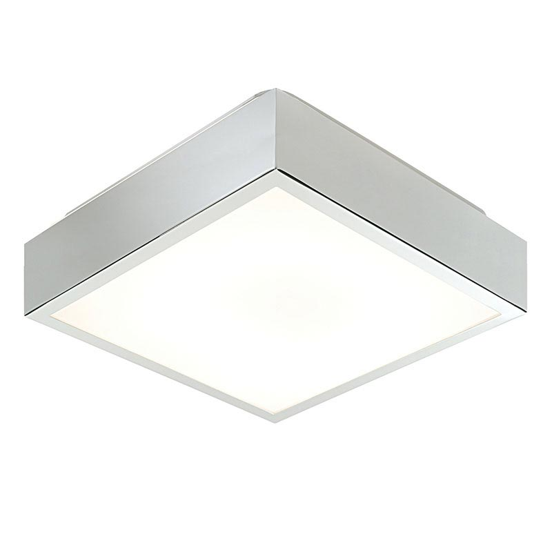 Saxby Cubita Small Square Bathroom Light Fitting Large Image