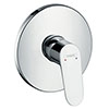 hansgrohe Focus HighFlow Concealed Single Lever Manual Shower Mixer - 31964000 profile small image view 1