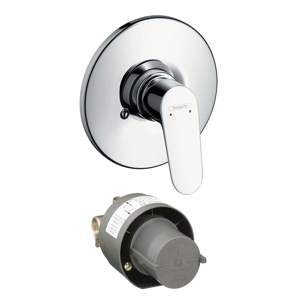hansgrohe Focus Concealed Manual Shower Mixer Set - 31966000