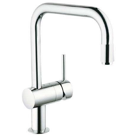 Grohe Minta Kitchen Sink Mixer with Pull Out Spray - Chrome - 32067000