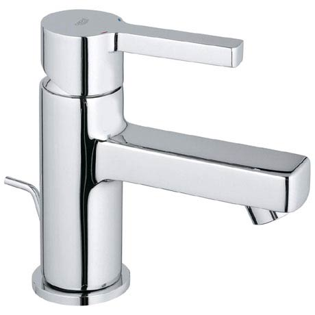 Grohe Lineare Mini Mono Basin Mixer with Pop-up Waste - 32109000