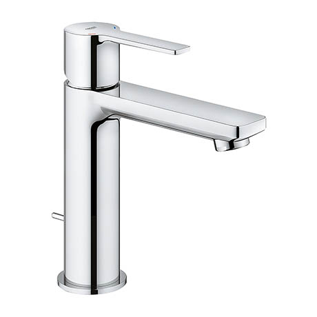 Grohe Lineare Mono Basin Mixer with Pop-up Waste - Chrome - 32114001