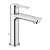 Grohe Lineare Mono Basin Mixer with Pop-up Waste - Chrome - 32114001 profile small image view 1