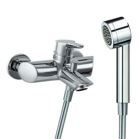 Laufen - Twin Pro Wall Mounted Bath Shower Mixer with Kit