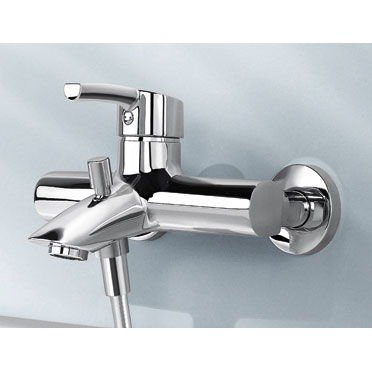 Laufen - Curve Pro Wall Mounted Bath Shower Mixer Profile Large Image