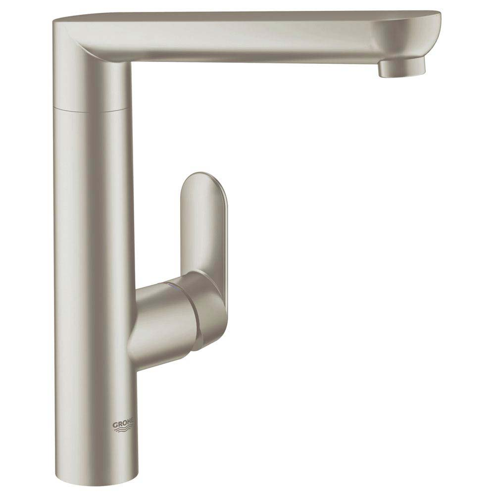 Grohe K7 Kitchen Sink Mixer - SuperSteel - 32175DC0 Large Image