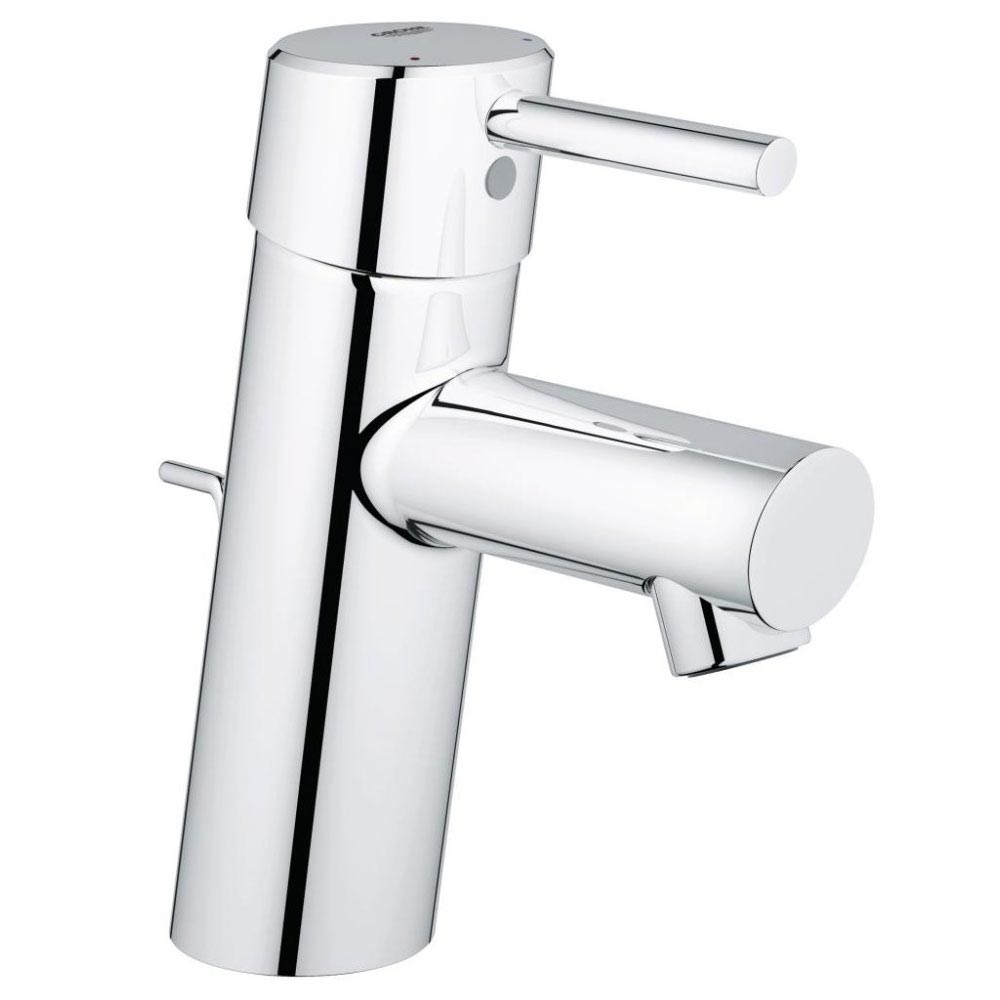 Grohe Concetto Mono Basin Mixer with Pop-up Waste - 32204001 Large Image