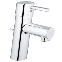 Grohe Concetto Mono Basin Mixer with Pop-up Waste - 32204001 Medium Image