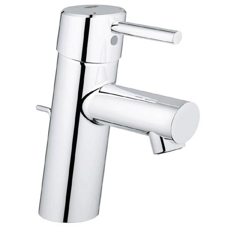 Grohe Concetto Mono Basin Mixer with Pop-up Waste - 3220210L
