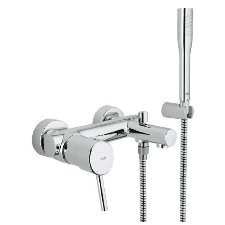 Grohe concetto wall mounted bath shower mixer victorian - Grohe concetto shower ...