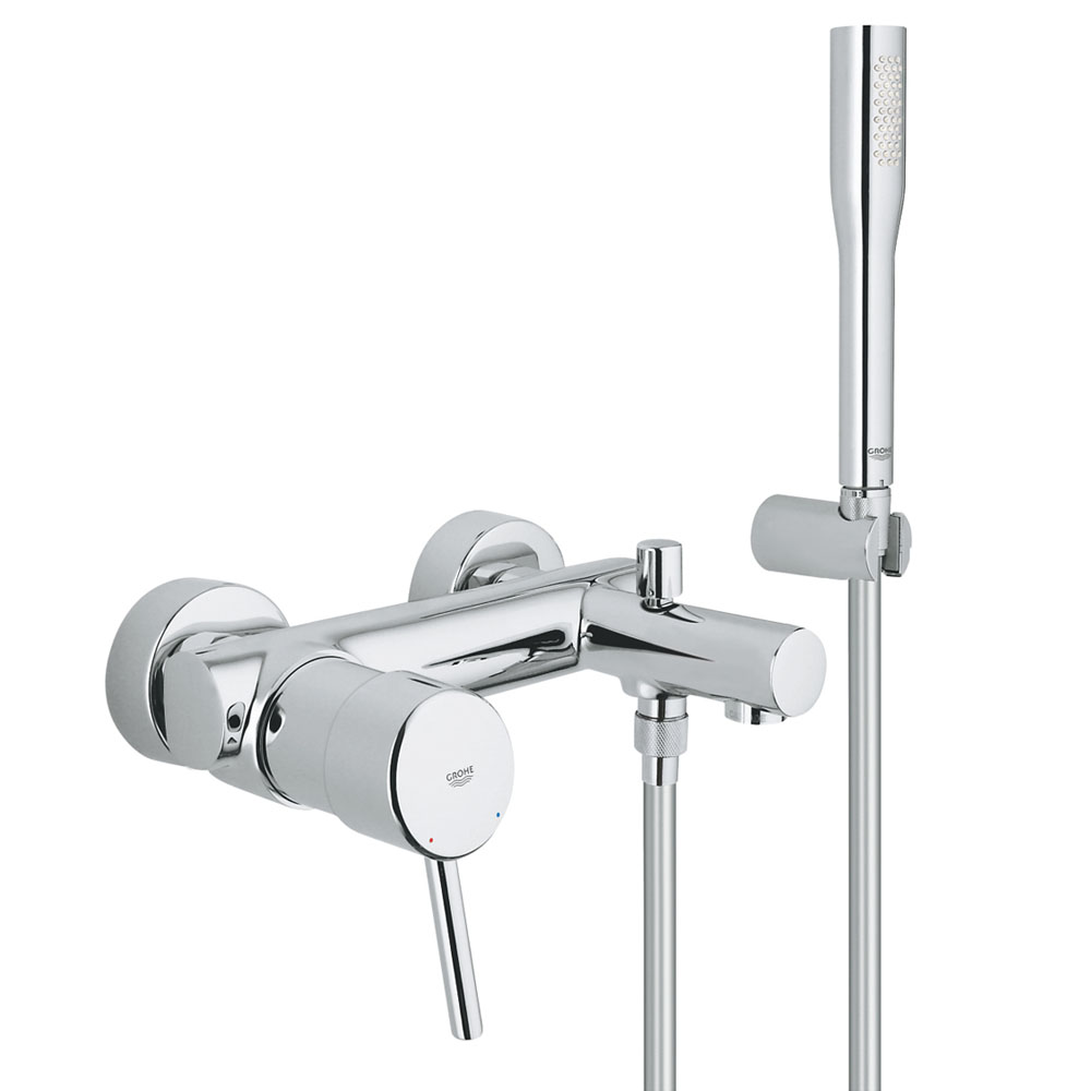 Grohe Concetto Wall Mounted Bath Shower Mixer Victorian