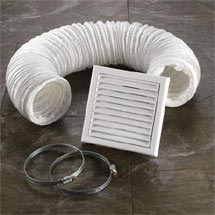 HIB Ventilation Fan Accessory Kit - White - 32400 Medium Image