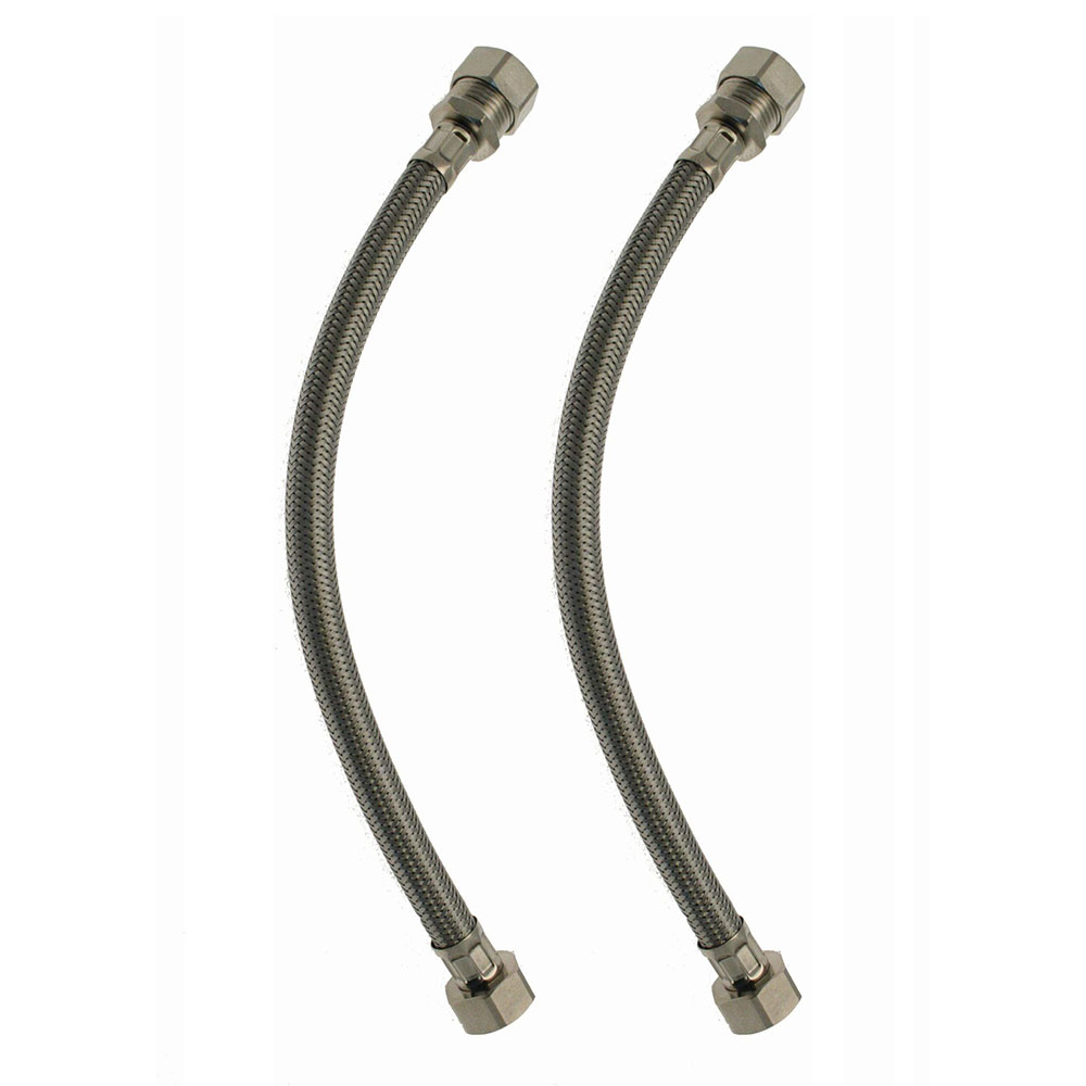 15mm X 3//4 Inch 300mm Flexi Tap Connector Same Day Dispatch.