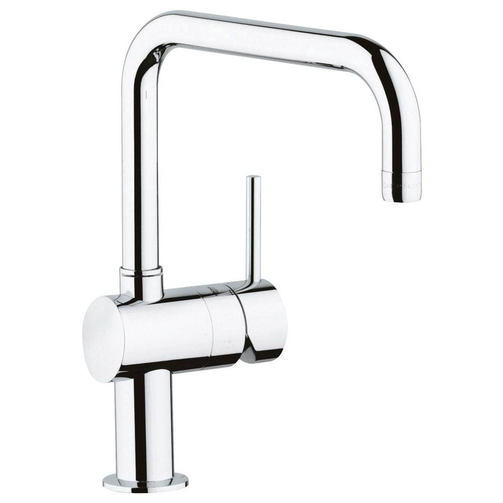 Grohe Minta Kitchen Sink Mixer - Chrome - 32488000 profile large image view 1