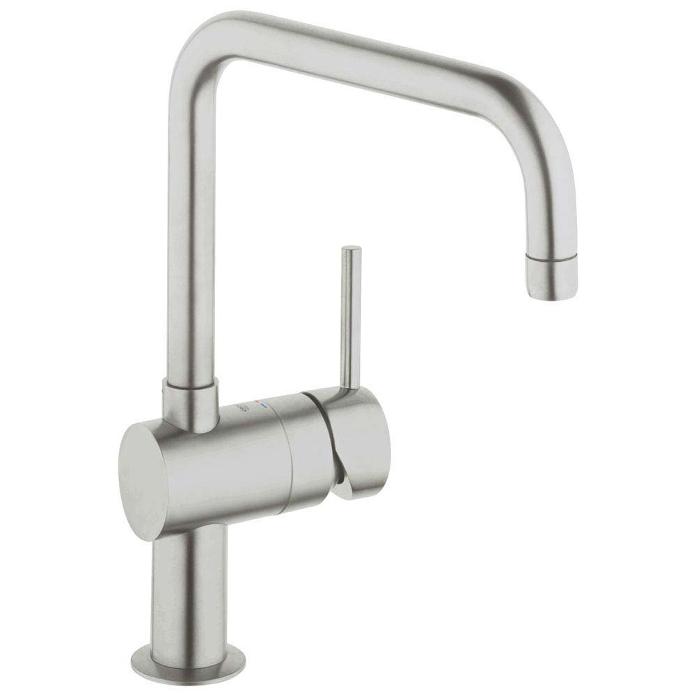 Grohe Minta Kitchen Sink Mixer - SuperSteel - 32488DC0 Large Image