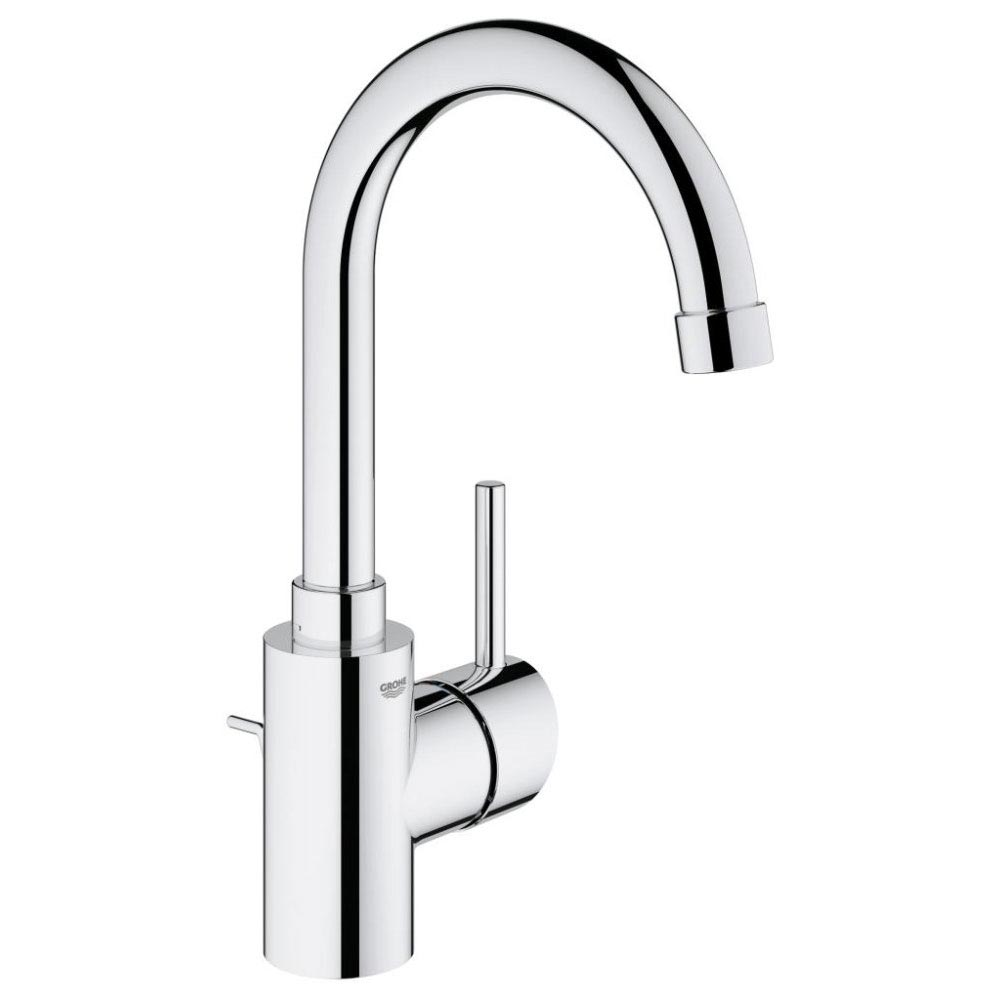 Grohe Concetto Swivel Spout Basin Mixer with Pop-up Waste - 32629001 profile large image view 1