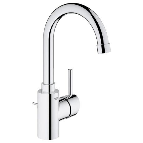 Grohe Concetto Swivel Spout Basin Mixer with Pop-up Waste - 32629001
