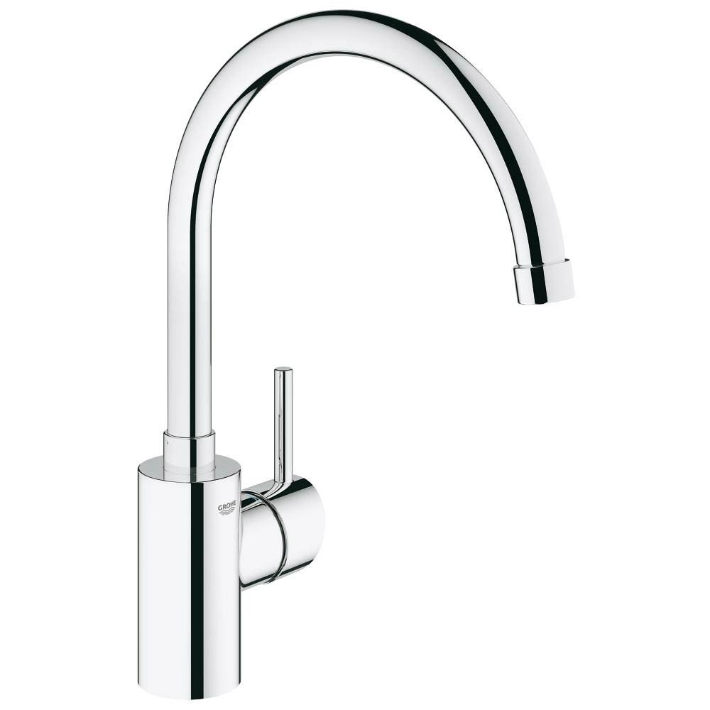 Grohe Concetto Kitchen Sink Mixer - Chrome - 32661001 profile large image view 1
