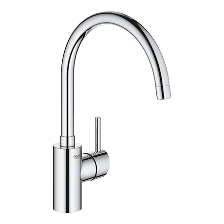 Grohe Concetto Single-Lever Sink Mixer Tap with Swivel Outlet - 32661003