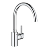 Grohe Concetto Single-Lever Sink Mixer Tap with Swivel Outlet - 32661003 profile small image view 1