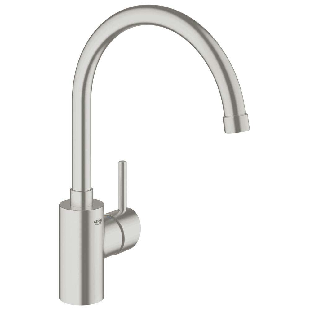 Grohe Concetto Kitchen Sink Mixer - SuperSteel - 32661DC1 Large Image