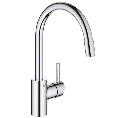 Grohe Concetto Kitchen Sink Mixer with Pull Out Spray - Chrome - 32663003