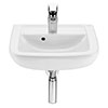 Roca Aire 450mm 1TH Wall Hung Basin profile small image view 1