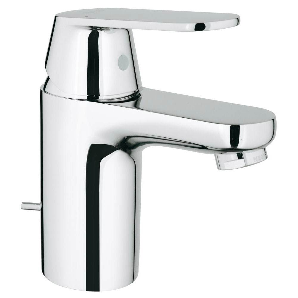 Grohe Eurosmart Cosmopolitan Mono Basin Mixer with Pop-up Waste - 32825000 profile large image view 1