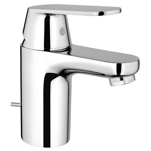 Grohe Eurosmart Cosmopolitan Mono Basin Mixer with Pop-up Waste - 3282500L profile large image view 1