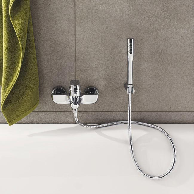 Grohe Eurosmart Cosmopolitan Wall Mounted Bath Shower Mixer - 32832000 profile large image view 2