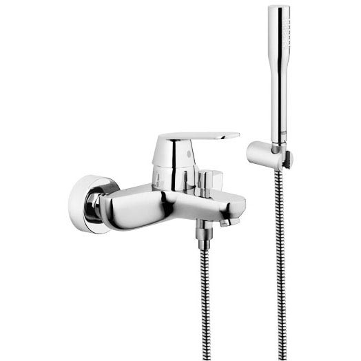 Grohe Eurosmart Cosmopolitan Wall Mounted Bath Shower Mixer - 32832000 profile large image view 1