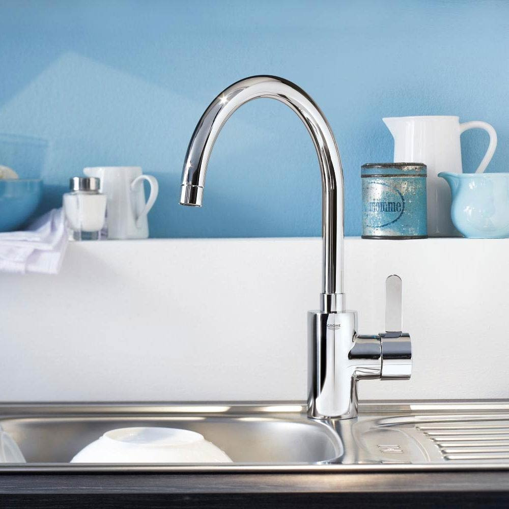 Grohe Eurosmart Cosmopolitan Kitchen Sink Mixer - 32843000  Feature Large Image