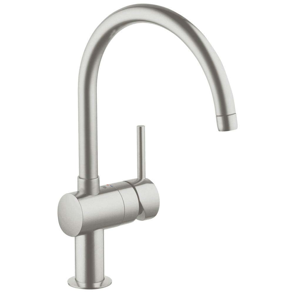 Grohe Minta Kitchen Sink Mixer - SuperSteel - 32917DC0 Large Image