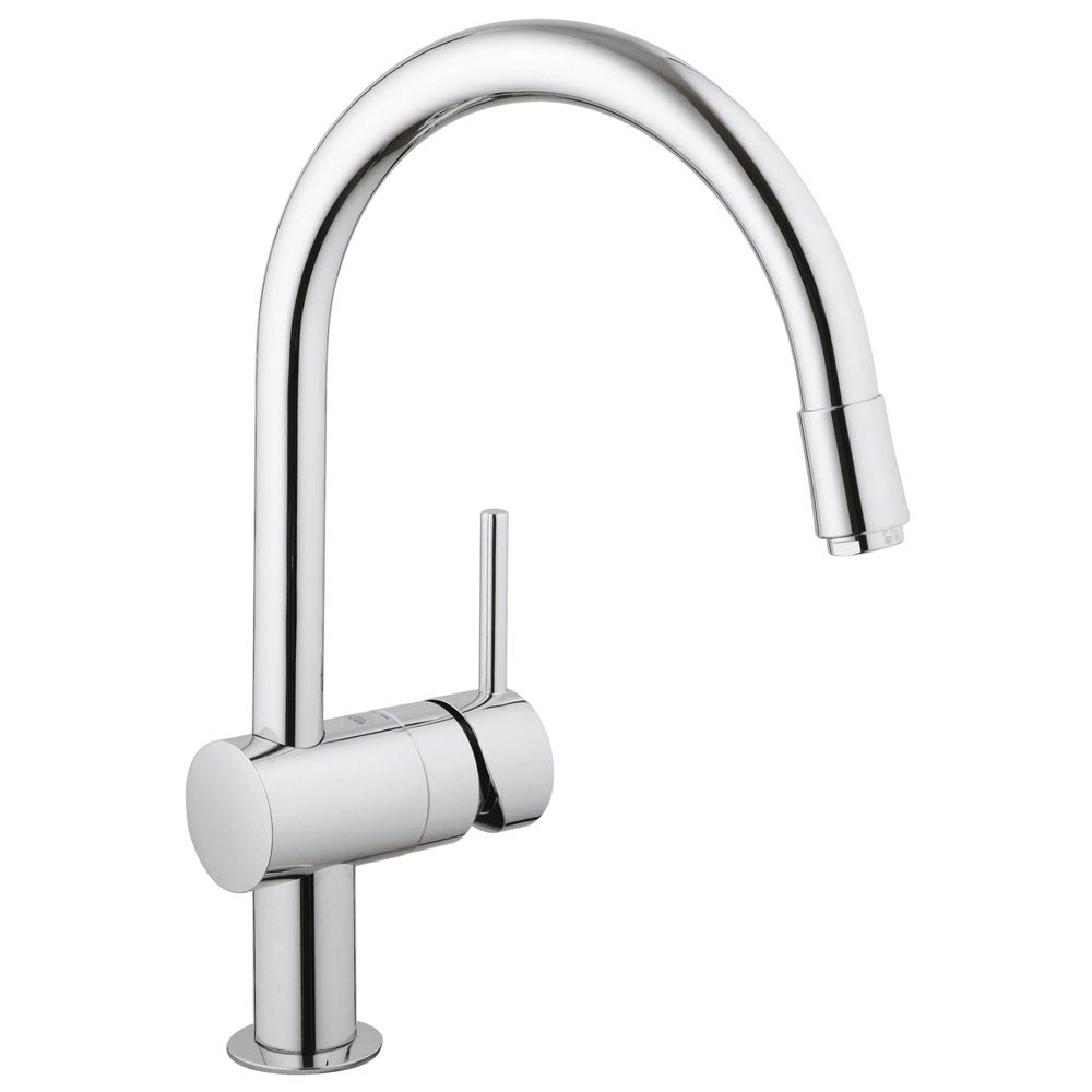 Grohe Minta Kitchen Sink Mixer - Chrome - 3291800E profile large image view 1