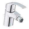 """Grohe Eurosmart 1/2"""" S-Size Bidet Mixer with Pop-up Waste - 32929002 profile small image view 1"""