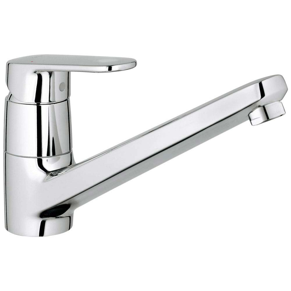 Grohe Europlus Kitchen Sink Mixer - 32941002 profile large image view 1