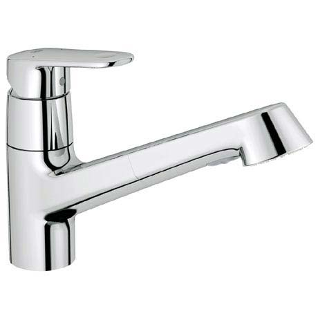 Grohe Europlus Kitchen Sink Mixer with Pull Out Spray - 32942002