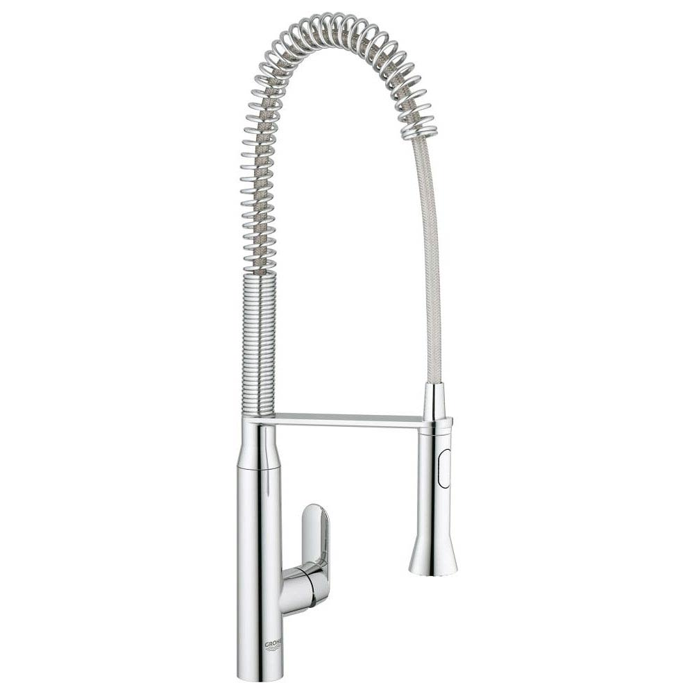 Grohe K7 Kitchen Sink Mixer with Professional Spray - Chrome - 32950000 Large Image
