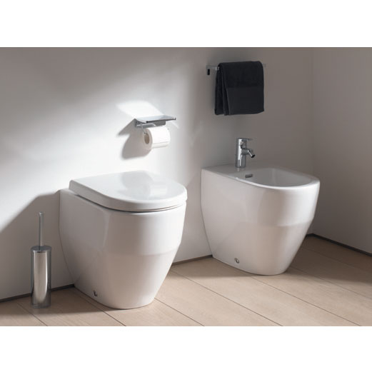 Laufen - Pro Back to Wall Bidet - 32952 profile large image view 2