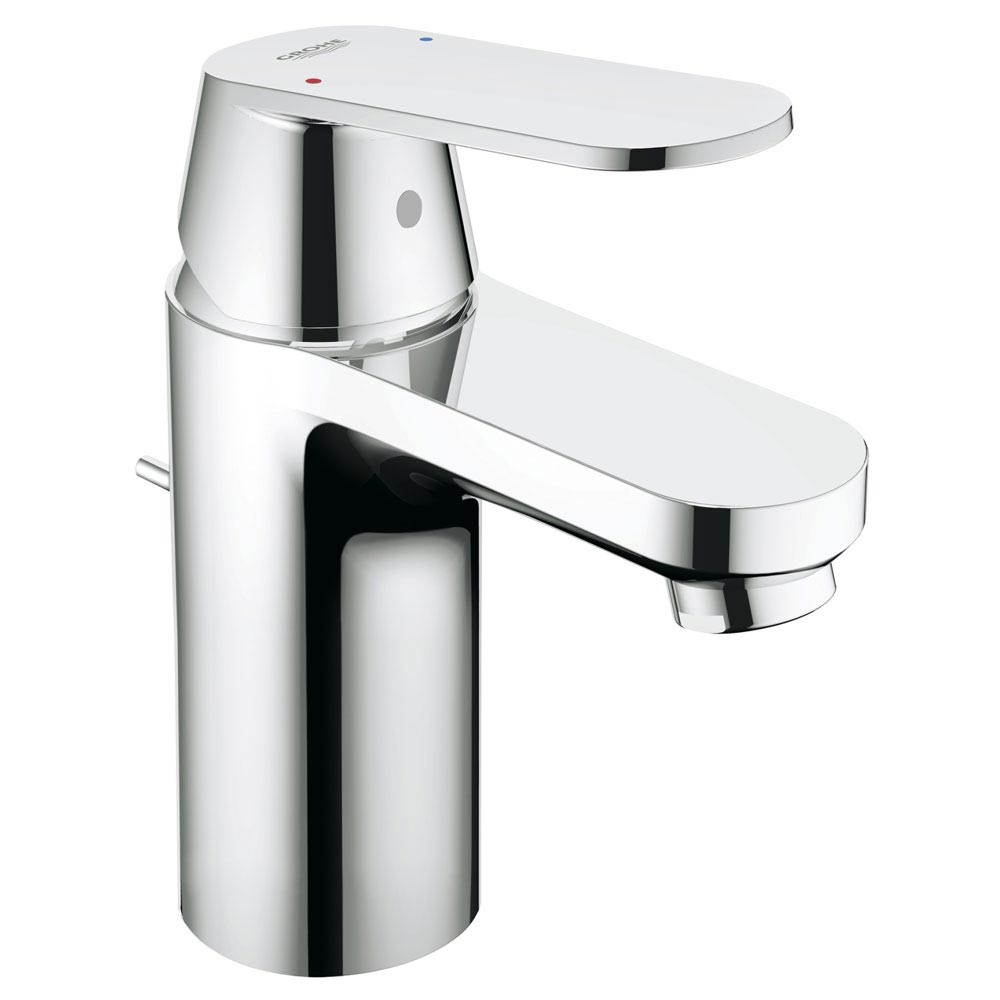 Grohe Eurosmart Cosmopolitan Mono Basin Mixer with Pop-up Waste - 32955000 profile large image view 2
