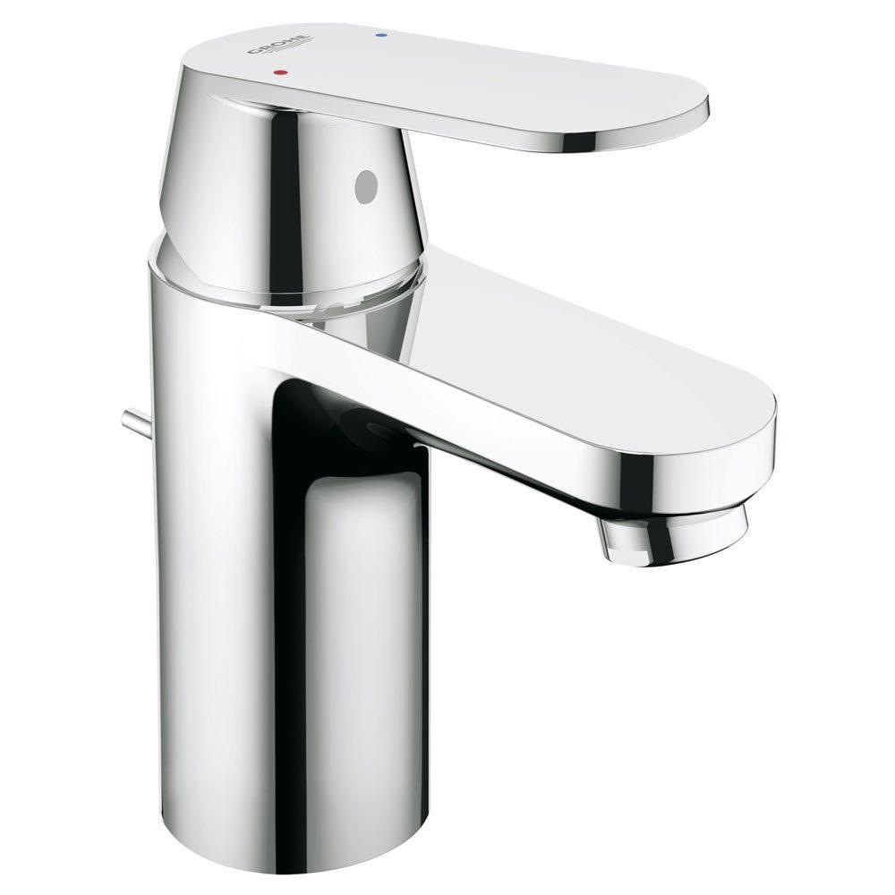 Grohe Eurosmart Cosmopolitan Mono Basin Mixer with Pop-up Waste - 32955000  Profile Large Image