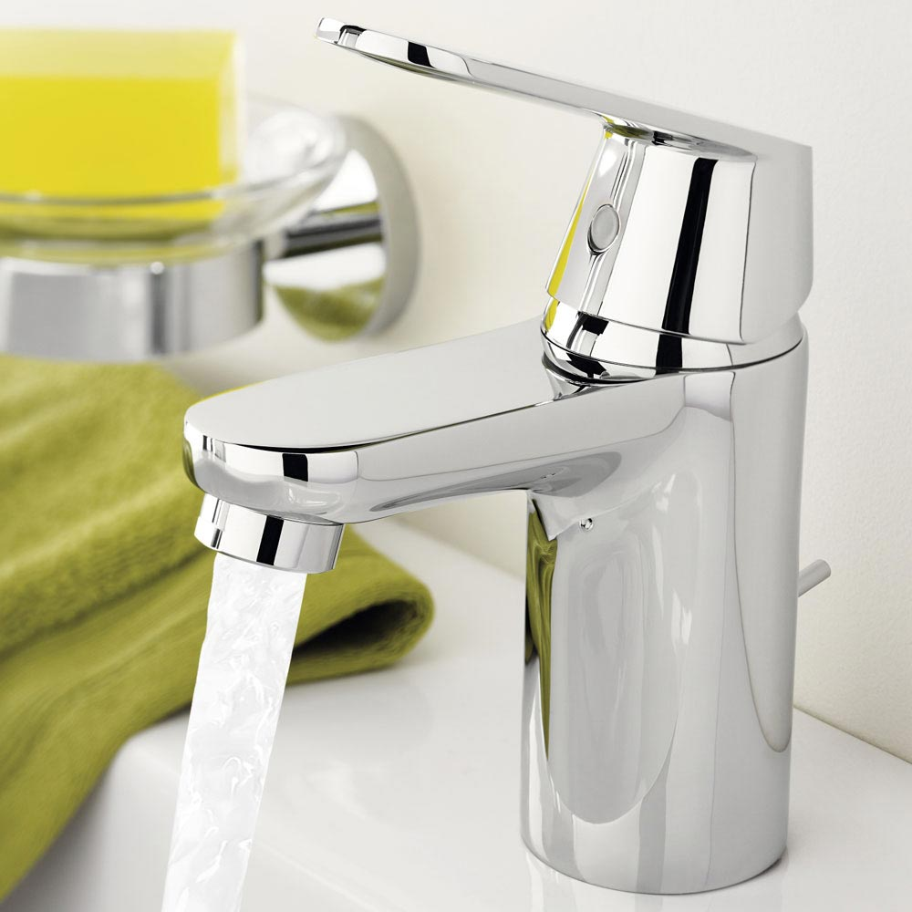 Grohe Eurosmart Cosmopolitan Mono Basin Mixer with Pop-up Waste - 32955000  In Bathroom Large Image